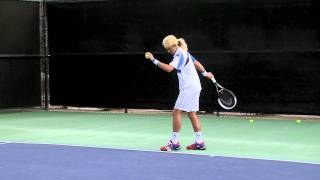 Novak Djokovic imitates Maria Sharapova - Part 2