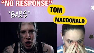 """""""NO RESPONSE"""" BY TOM MACDONALD (OFFICIAL MUSIC VIDEO) *FIRE*"""