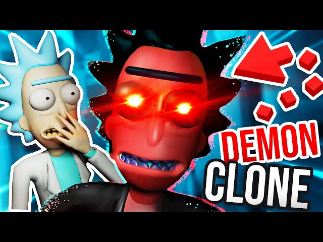 CLONING RICK SANCHEZ has GONE HORRIBLY WRONG!!?! (Rick and Morty VR Mods)