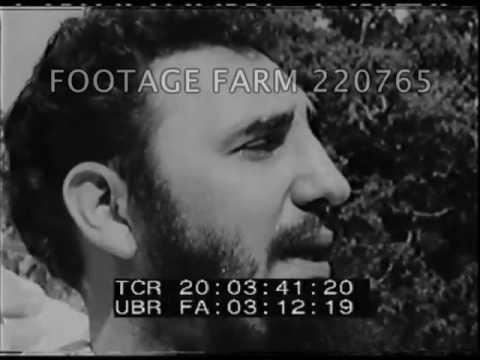 Castro Cuba and Communism - 220765-01 | Footage Farm