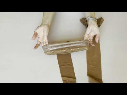 Prezentare ciorapi subtiri rezistenti multifibra cu banda adeziva Conte Elegant Class 12 den