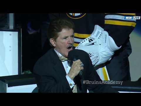 Bruins Academy   Rene Rancourt Retirement