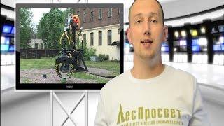 Соревнования операторов гидроманипулятора среди студентов СПБГЛТУ