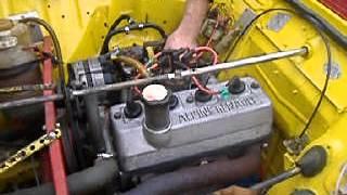 moteur r5 alpine dans 4l