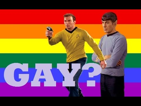 Are They Gay?  Kirk and Spock