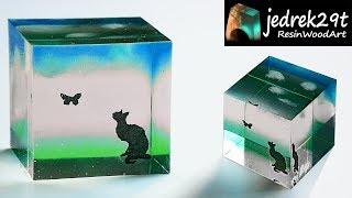 DIY. CAT  in Resin / ART RESIN