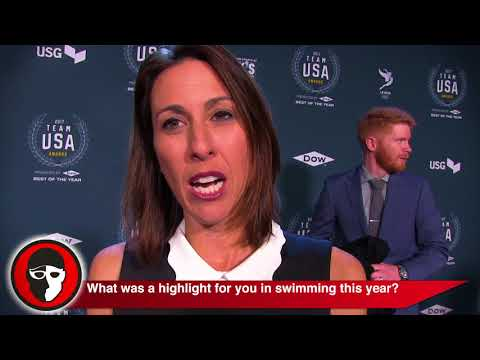 Janet Evans @ 2017 Team USA Awards