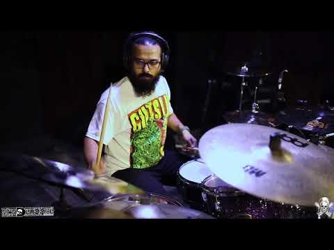 ROADKILL - Gutslit- Drum Cam!