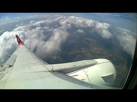 Window seat view Pontianak to Yogyakarta