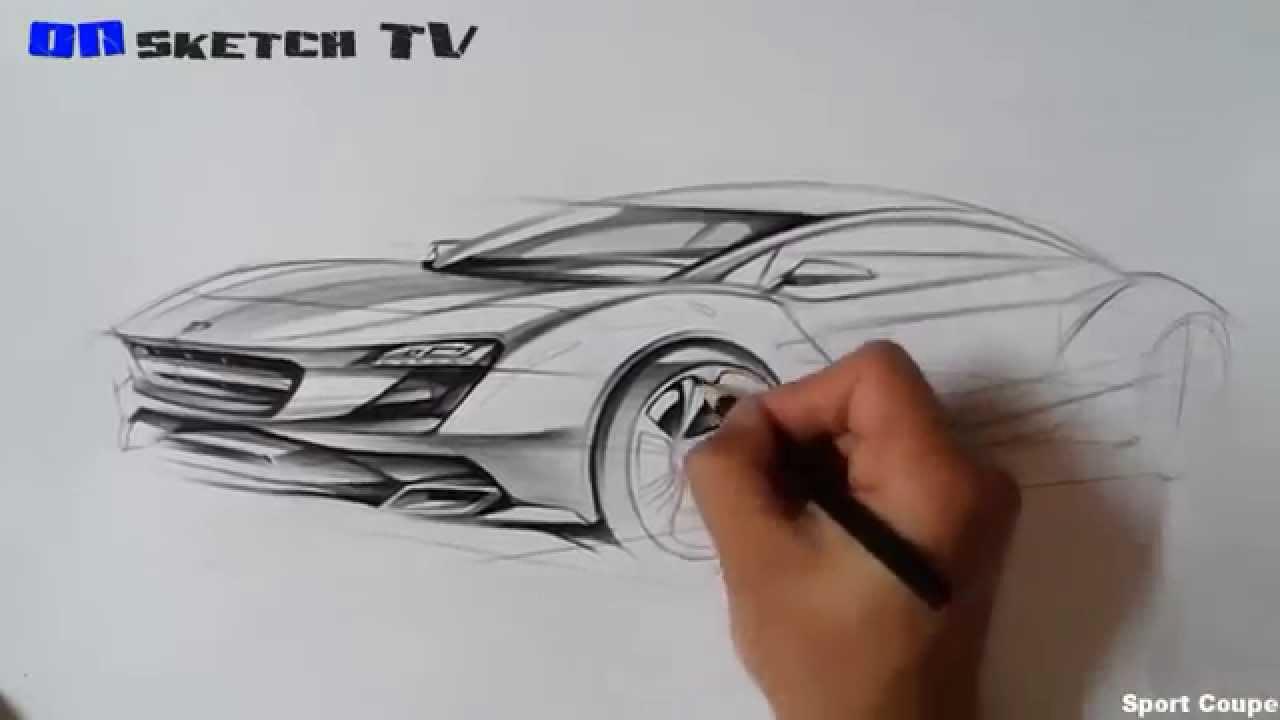 온스케치 TV Car Sketch - \