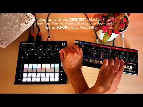 Court Circuit ⚡ (Novation Circuit Tracks, Roland JU-06A)