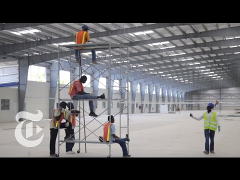 A Factory Grows in Haiti | The New York Times