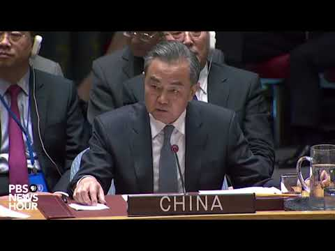 WATCH: China rejects 'unwarranted accusations' of election meddling