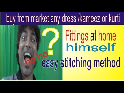 Buy Any Type Dress And Fittings At Your Home Himself /Salwar Kameez Etc