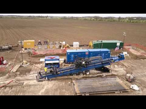 Pretec Directional Drilling - American Augers DD-660RS