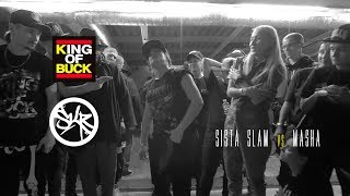 SISTA SLAM vs MASHA | CALL OUT | KING OF BUCK RUSSIA