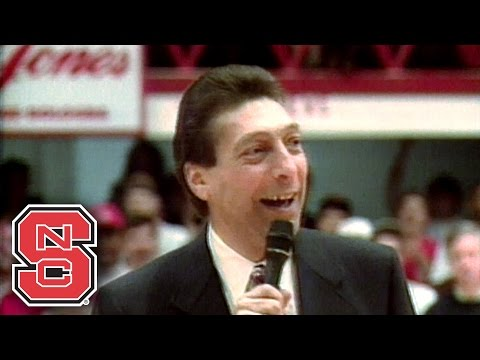 Jim Valvano Speaks To 1983 NC State Team, Wolfpack Fans At 10 Year Reunion