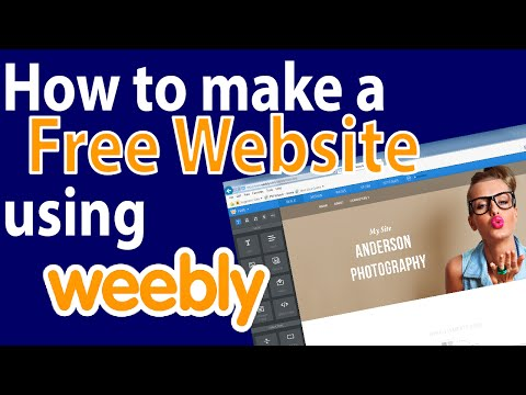 Weebly Weebly Youtube How To Make A Website