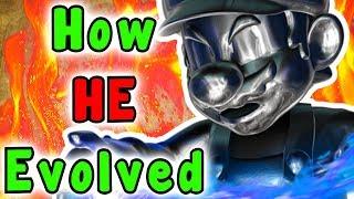 Super Mario - Evolution Of METAL MARIO (1996 - 2018)