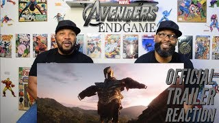 Marvel Studios Avengers : Endgame Official Trailer Reaction