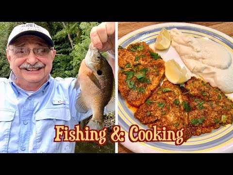 Fishing And Cooking With Minimal Skill (for Lemon, Parmesan, Butter Bluegill)