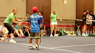 Tennis Games Red Court. Part 5