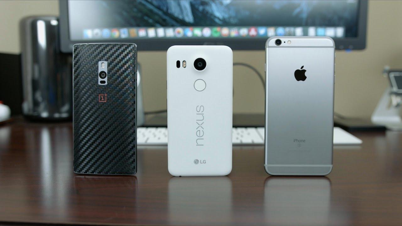 Oneplus 2 vs iphone 6s plus