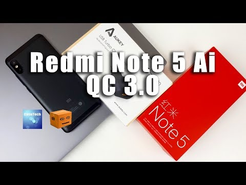 Redmi Note 5 (AI) Quick Charge 3.0