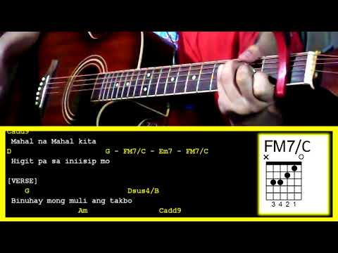 Mahal Na Mahal By Sam Concepcion Guitar Chords Youtube