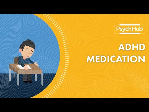 Medication For Attention Deficit/Hyperactivity Disorder