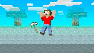 Minecraft BUT A Layer DISAPPEARS Every 5 SECONDS!