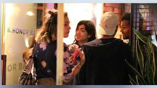 Paris Jackson steps out with brothers Prince and Bigi