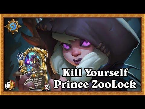 Hearthstone: Kill Yourself - Prince Zoo Warlock