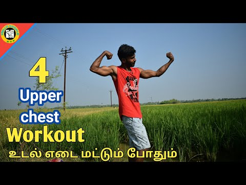 4 home workout for upper chest in tamil | hello people | gym workout in tamil | sixpack in tamil