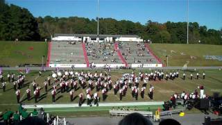 Henderson State University Showband of Arkansas Homecoming 09