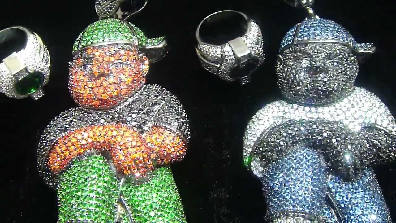 f02f942e4cbd2 Mr Chris Da Jeweler Exclusive Custom Lab Diamond Big Man & Ring Combo Video  No : BP03952 by MrChrisdajeweler
