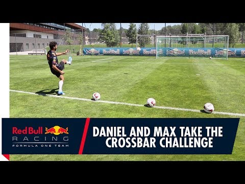 Daniel Ricciardo and Max Verstappen take on the Red Bull Academy in Salzburg!