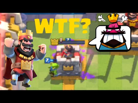 MISSED BY 1 HP | Clash Royale LOL Moments #1