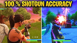 HOW TO HIT 100% OF YOUR SHOTGUN SHOTS ON CONSOLE! - IMPROVE YOUR AIM ON FORTNITE EASILY!