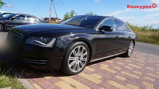 Audi A8 L - Новая химчистка салона автомобиля в Курске