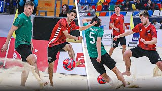 АМКАЛ против Сборной РОССИИ Кубка Легенд Пляжный Футбол