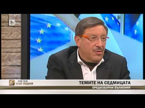 Maxim Behar on Ukraine, Bulgarian politics and more in  bTV Sunday Morning talk show