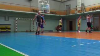 Новая Каховка тренировка баскетбол 27.07.2017 (1 часть)