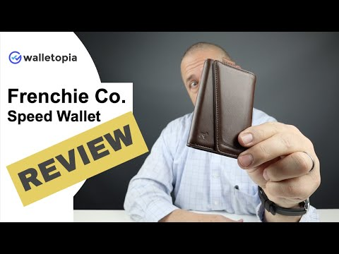 Does The Frenchie Co. Speed Wallet Design Work?