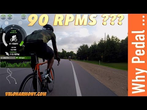 Why Pedal At 90 RPM When Cycling?