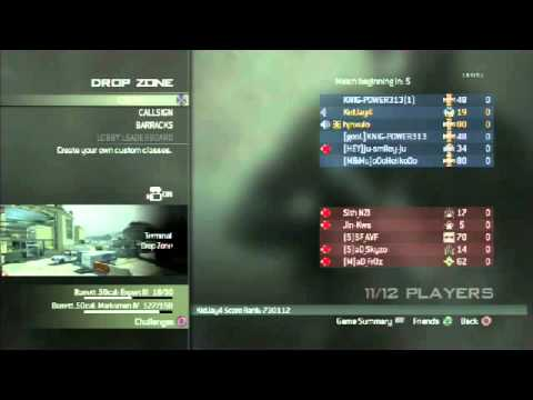MW3 Gameplay w/Nav