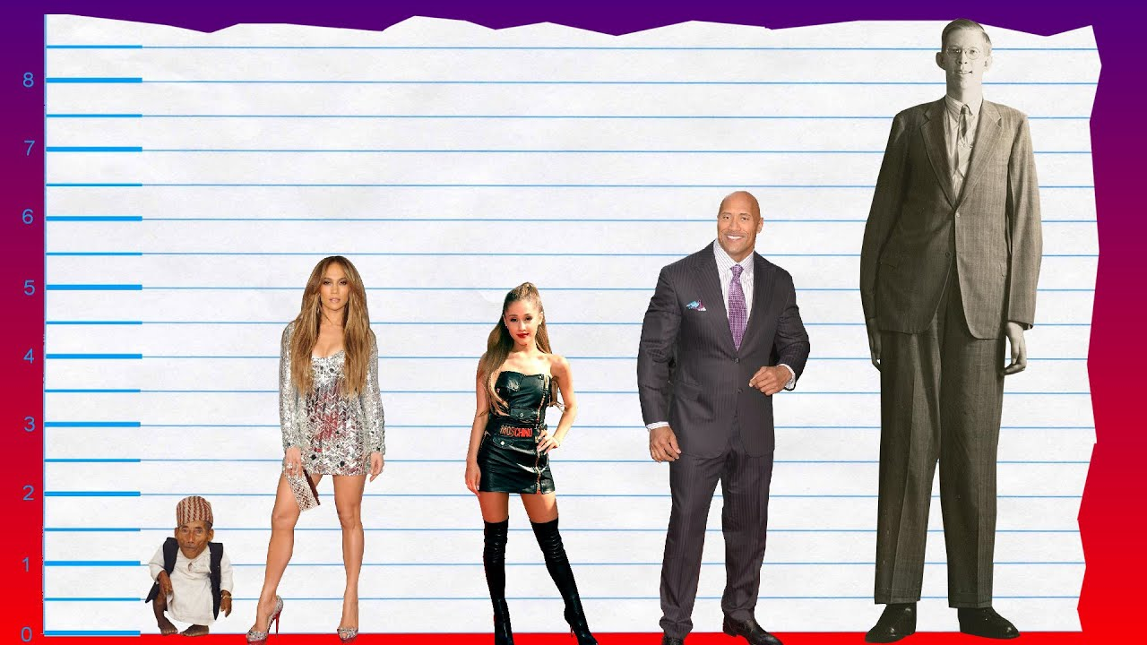 How Tall Is Jennifer Lopez? - Height Comparison! - YouTube