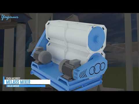 How It Works: A Feed Mill Plant - 3D Animation - Bir Yem Fabrikası Nasıl Çalışır ? 3D Animasyon