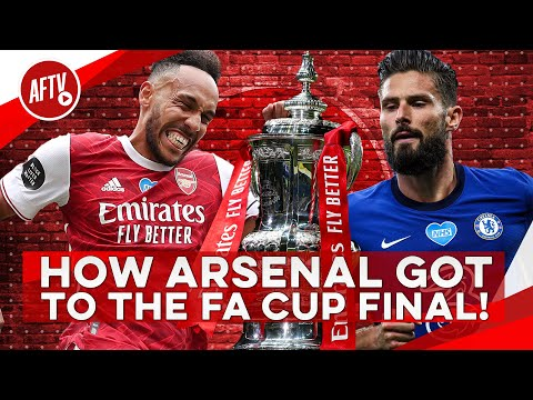 How Arsenal Got To The FA Cup Final!