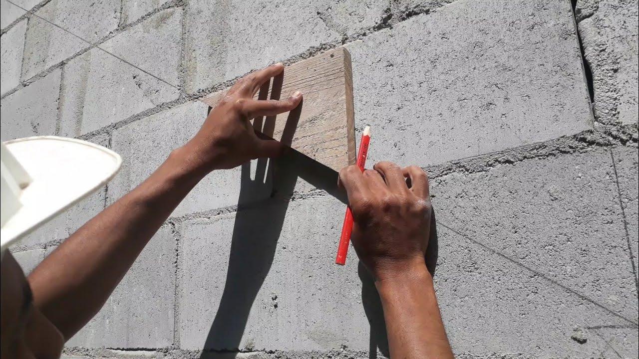 Como marcar escada de maneira rápida e fácil sem usar o